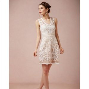 Yoana Baraschi Jola Lace White Dress
